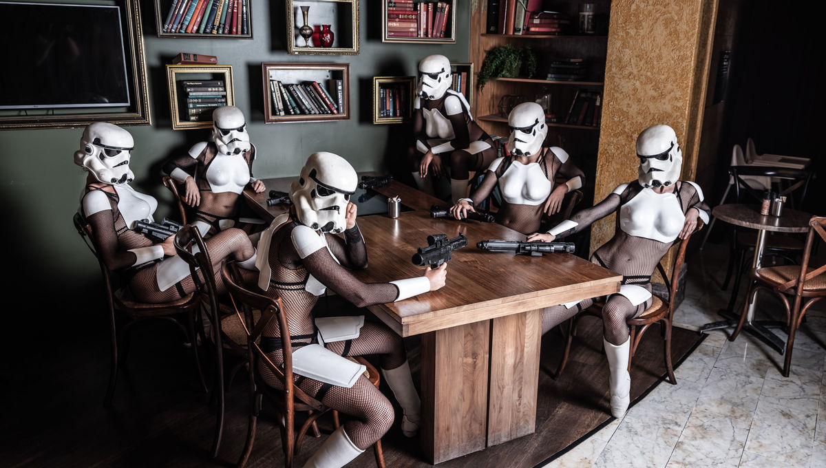 The Empire Strips Back burlesque parody is bringing saucy Stormtroopers to a city near you