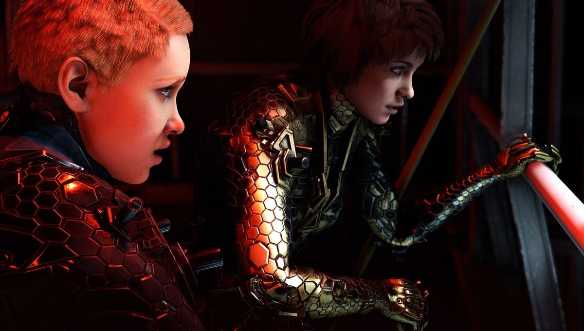 Wolfenstein: Youngblood sisters