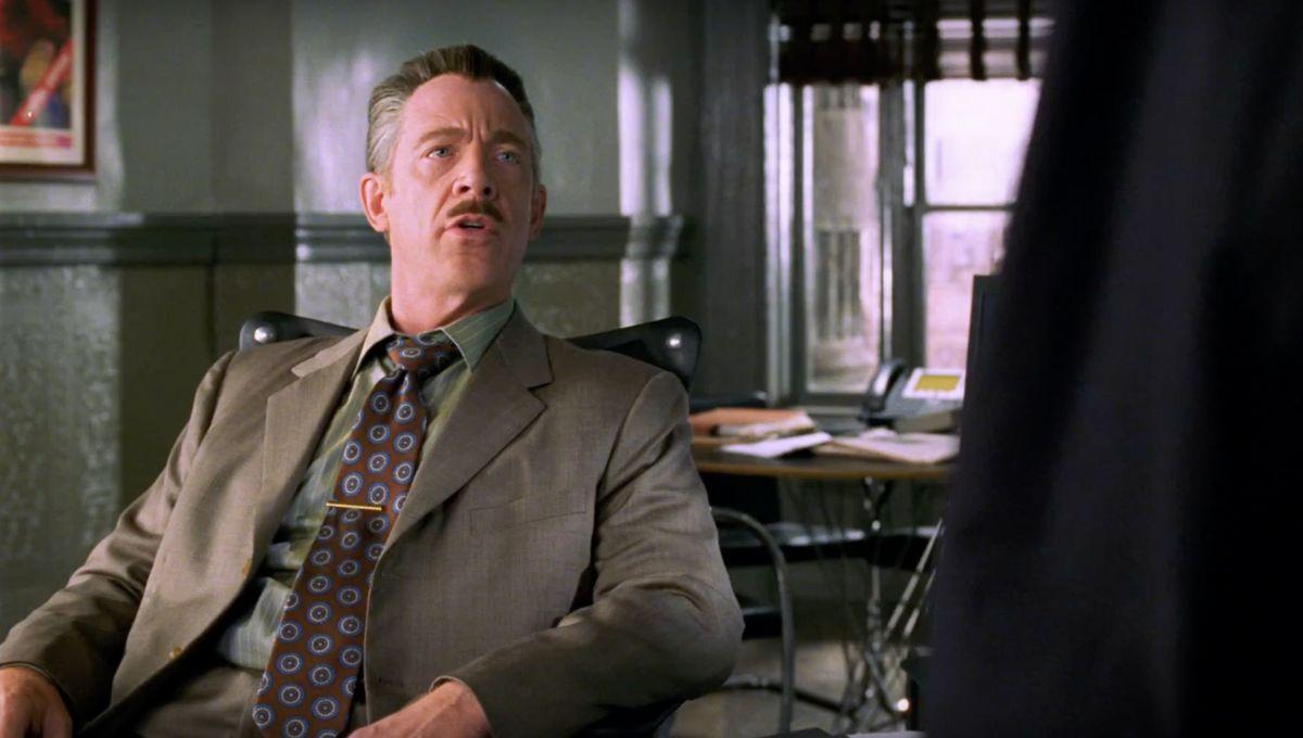 Simmons Previous Appearance as J. Jonah Jameson
