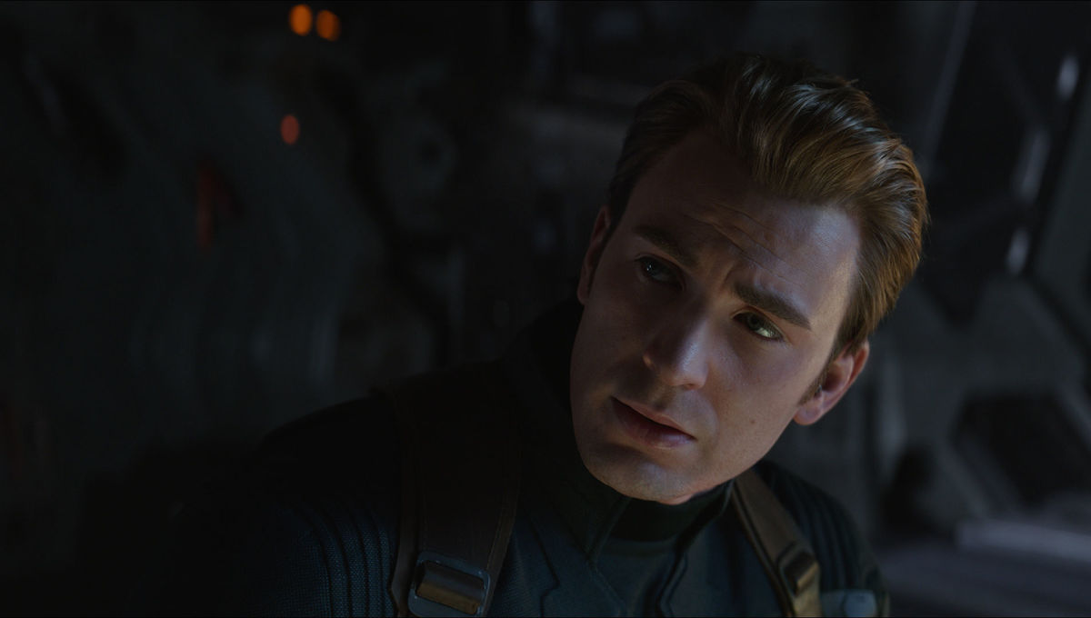 Chris Evans as Captain America in Avengers: Endgame
