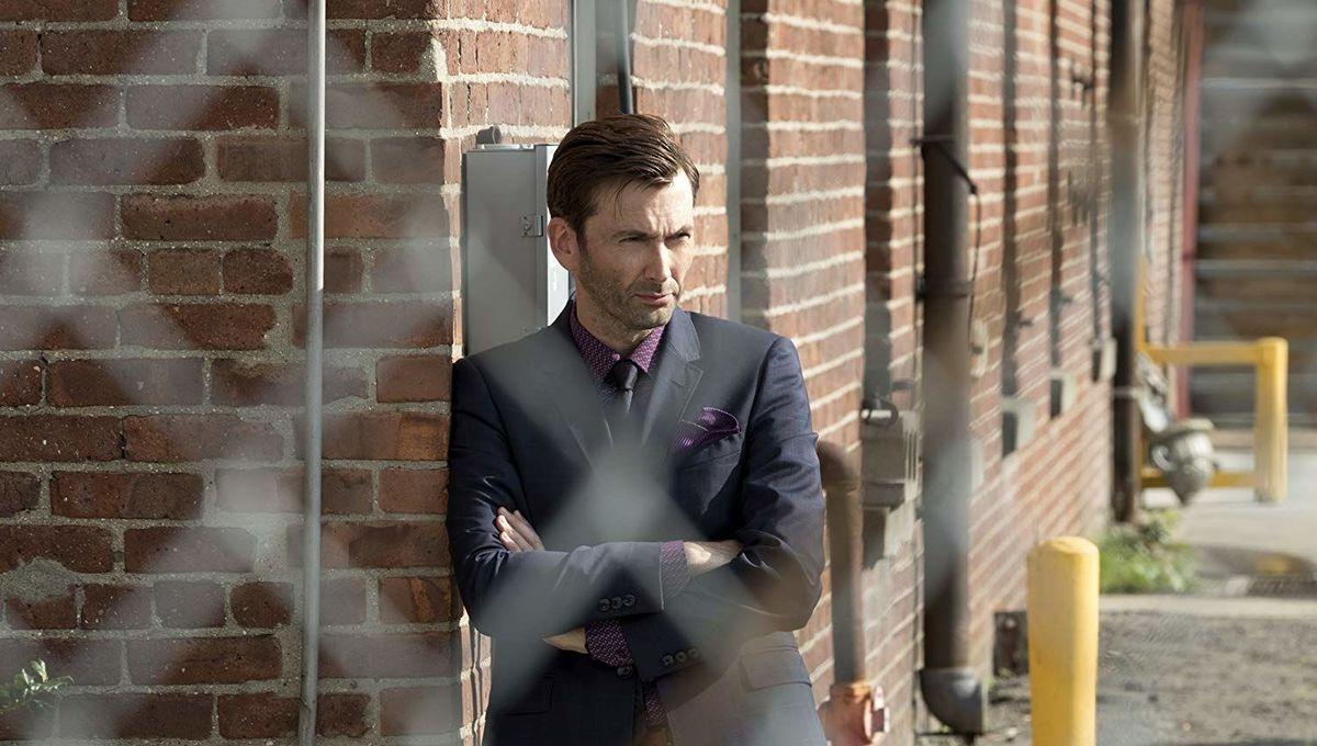 David Tennant as Kilgrave on Jessica Jones