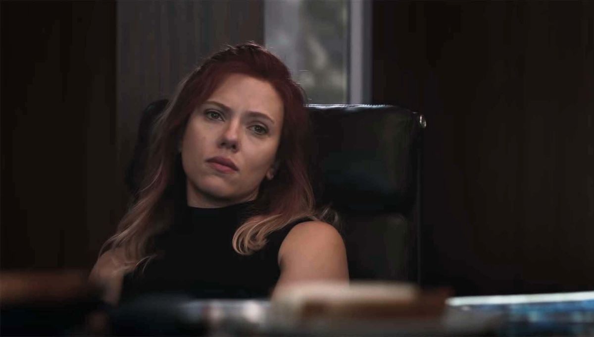 Natasha in Avengers Endgame