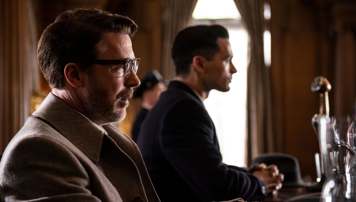 Project Blue Book Aidan Gillen Michael Malarkey