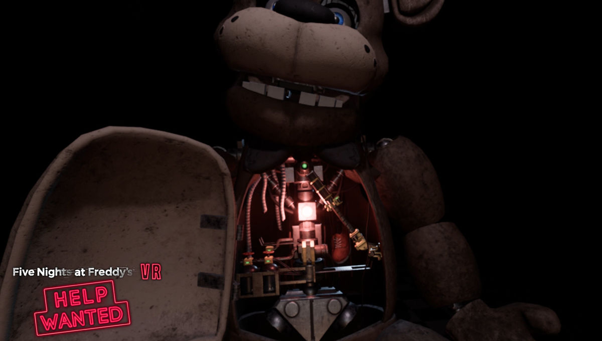 We checked out Sony VR's Five Nights at Freddy's, Trover
