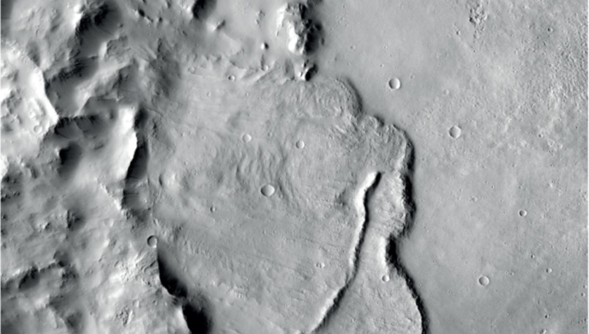Subterranean craters on Mars could mean ancient aliens