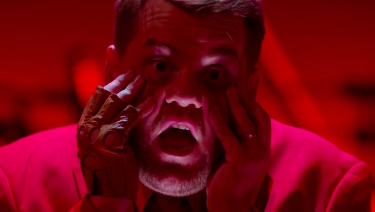 James Corden gets replaced as Late Late Show host in 'Us' horror parody