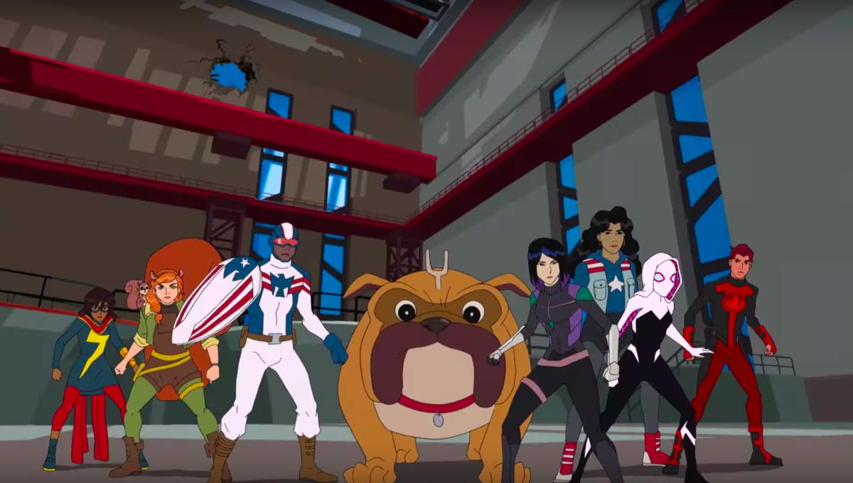 WonderCon: Three new Marvel Rising shorts will feature Shuri, Inferno, and Ghost-Spider later this year