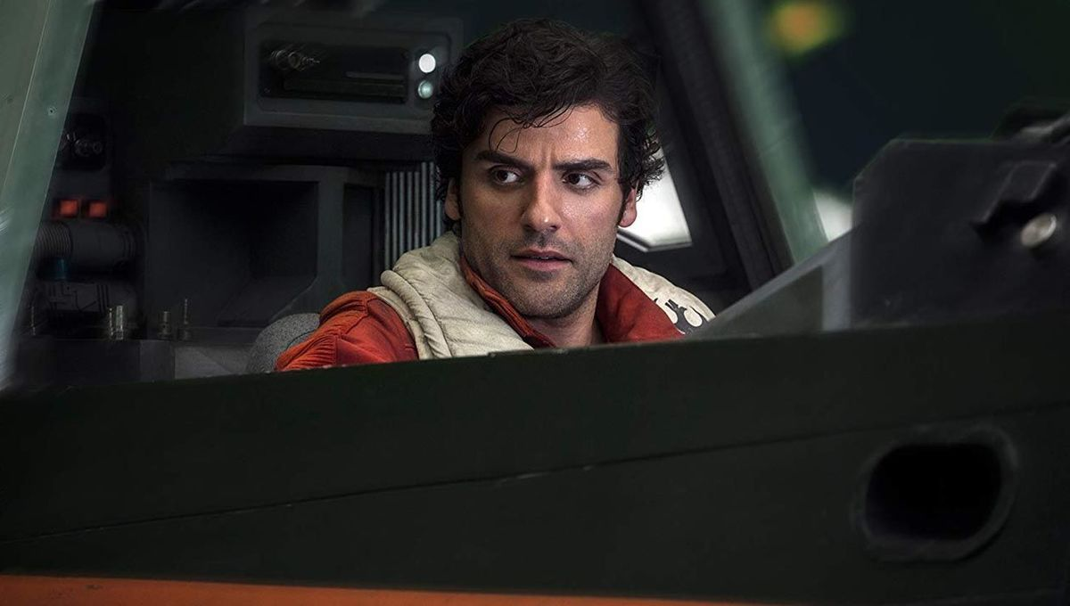 Poe Dameron in Star Wars: The Last Jedi