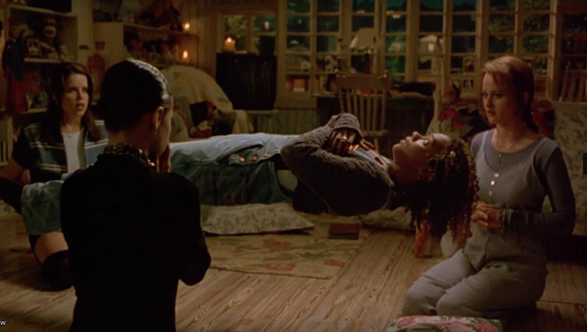 Seance scene from The Craft