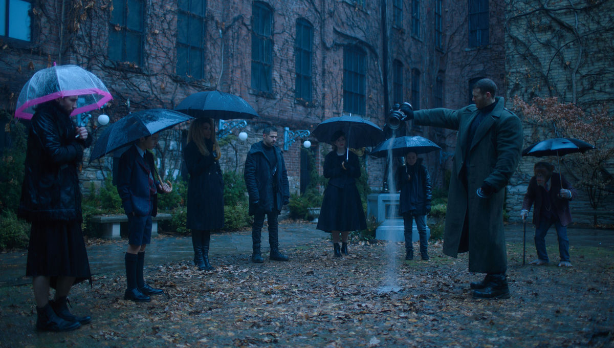 Look of the Week: The Umbrella Academy's Stylized Superhero Attire