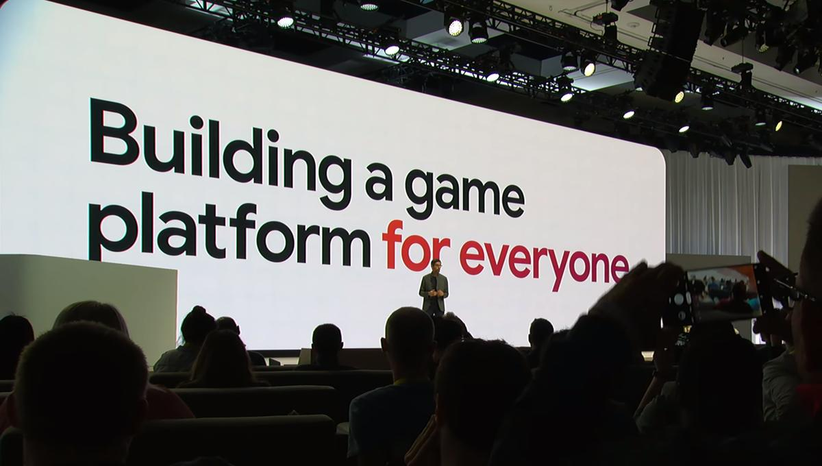 Google announces gaming service Stadia at GDC 2019
