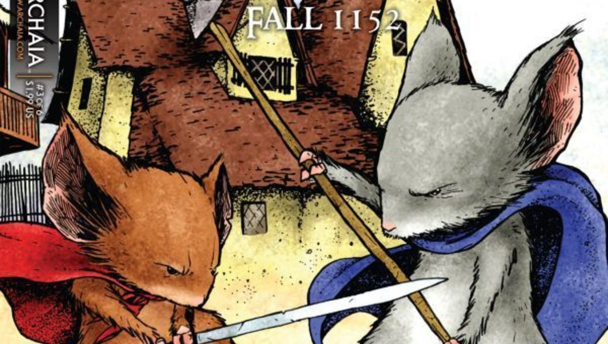 MOUSE GUARD Movie Canceled by Disney