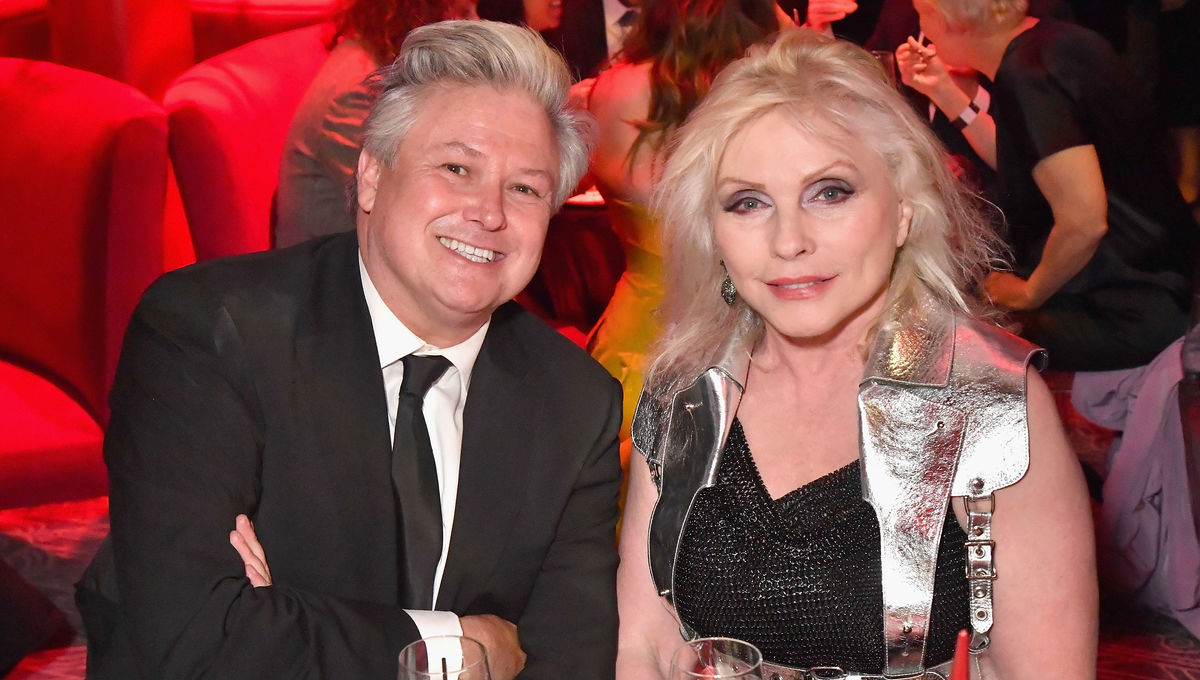 Conleth Hill and Debbie Harry