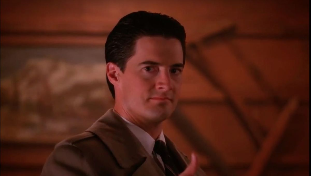 Agent Dale Cooper (Kyle MacLachlan) from Twin Peaks, courtesy of ABC
