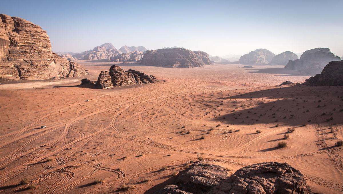 Dune movie location Wadi Rum in southern Jordan
