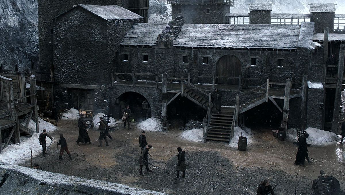 Castle Black guards The Wall in HBO's Game of Thrones