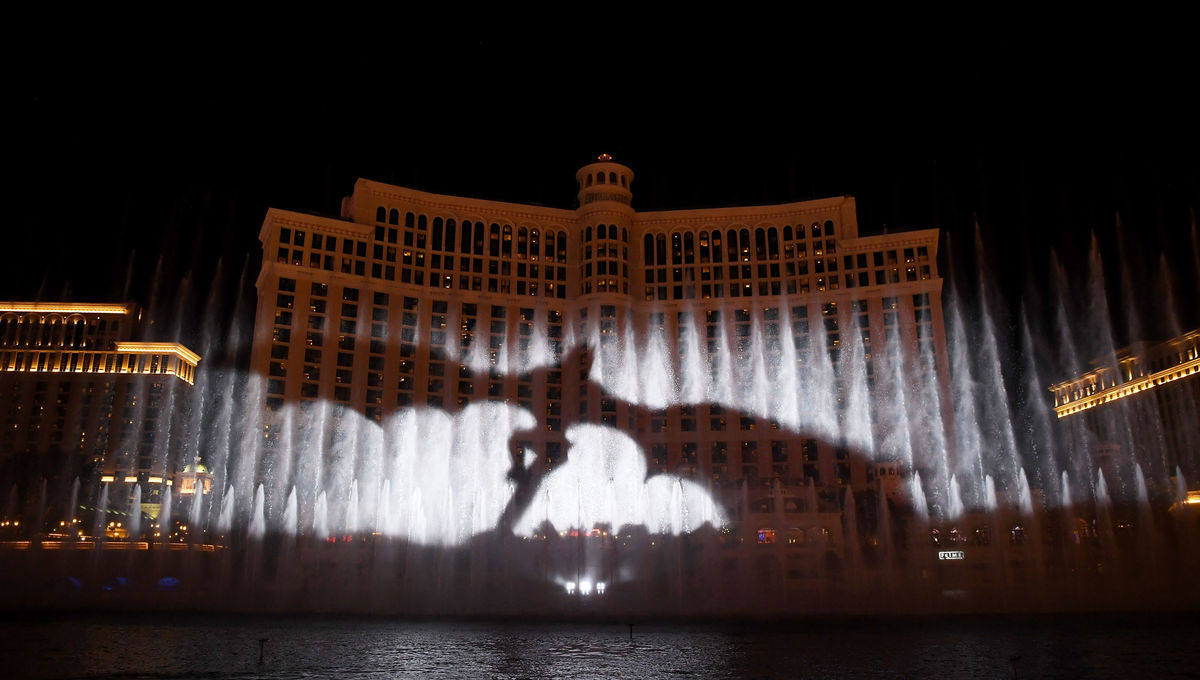 Game of Thrones Fountain Show Bellagio Las Vegas, NV