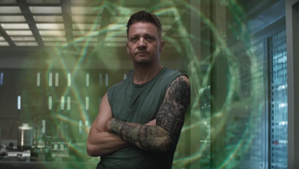 Hawkeye tattoo avengers endgame Timeline