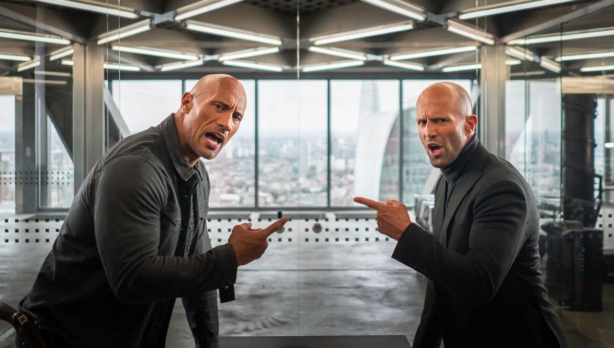 The Rock and Jason Statham's Hobbs & Shaw battle Idris Elba's 'Black Superman' in new trailer