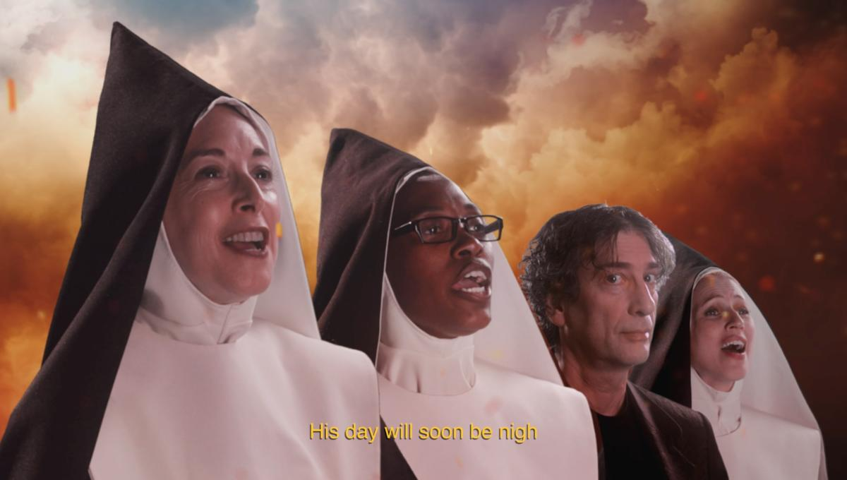 Good Omens Brand New Baby Smell music video