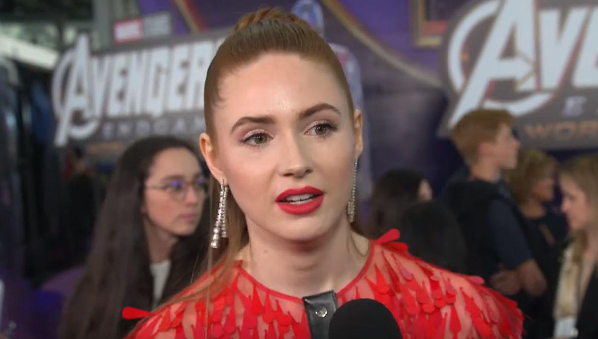 Karen Gillan Avengers Endgame Red Carpet