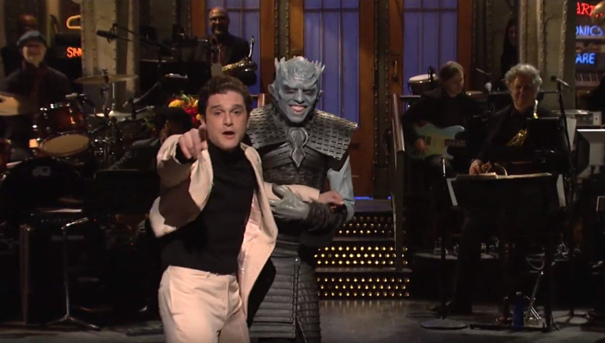 Game of Thrones star Kit Harington ruthlessly heckled during SNL gig