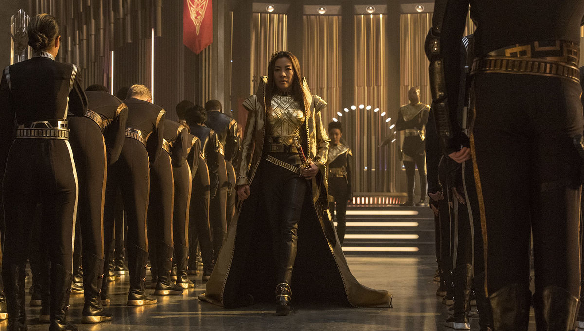 Michelle Yeoh as Cpt. Philippa Georgiou in Star Trek: Discovery
