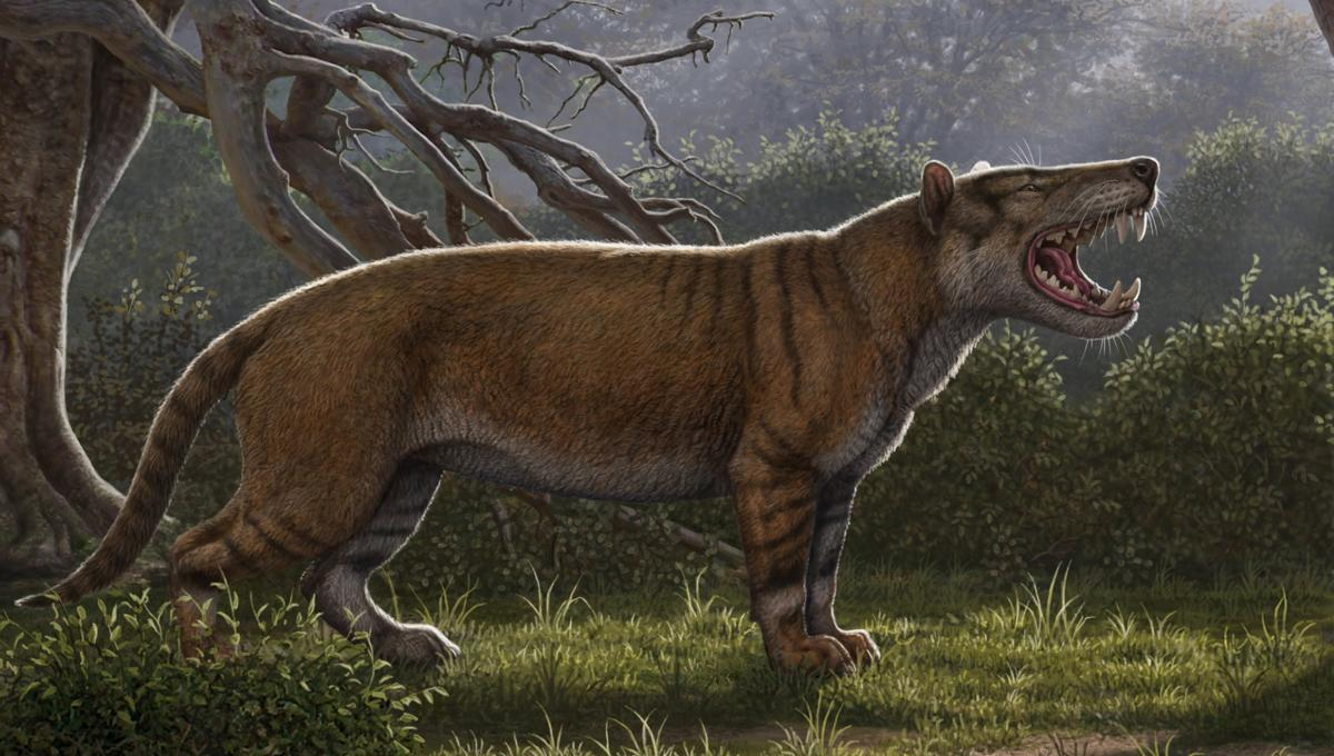 """Fearsome prehistoric """"Warg"""" beast is something straight out of Lord of the Rings"""