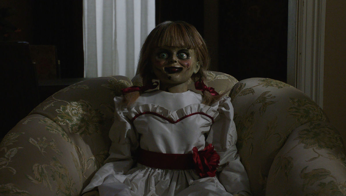 The Real Annabelle doll, straight from Ed and Lorraine