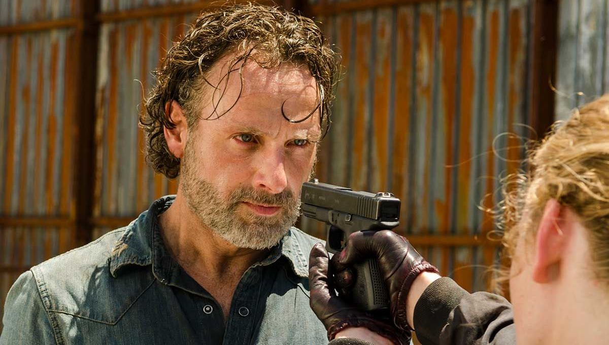 Andrew Lincoln as Rick Grimes in AMC's The Walking Dead