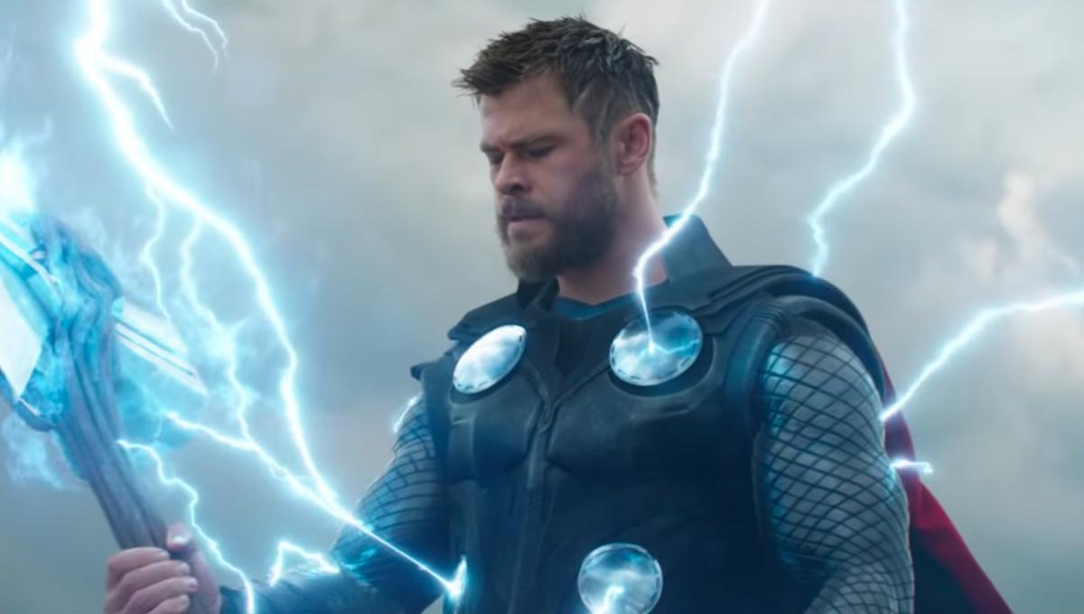Chris Hemsworth's Thor in Avengers: Endgame