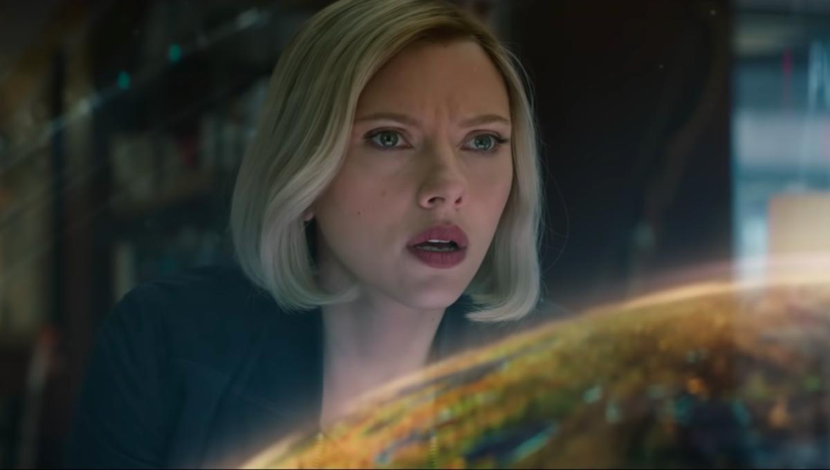 Black Widow in Avengers: Endgame