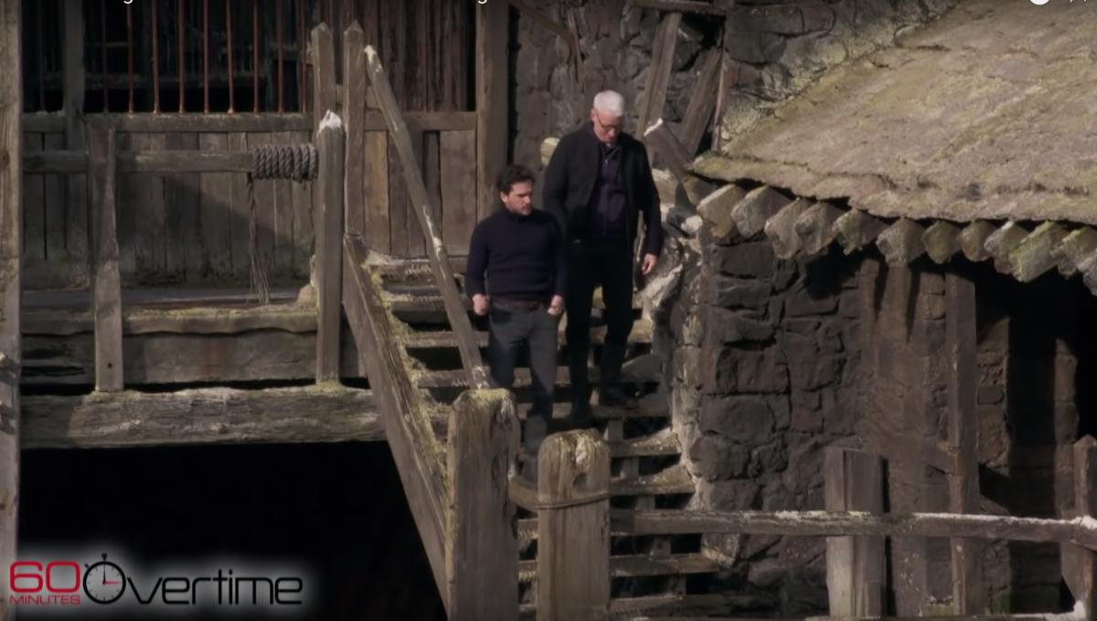 60 Minutes Game of Thrones Kit Harrington Anderson Cooper