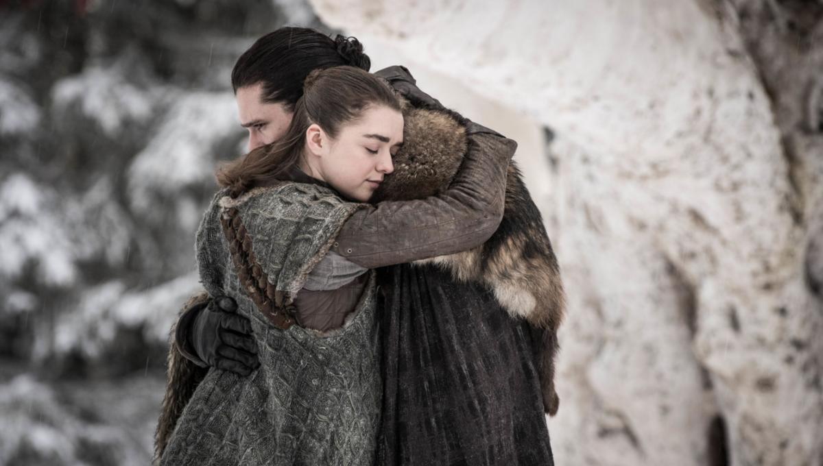 Game of Thrones Season 8 Arya Jon Snow