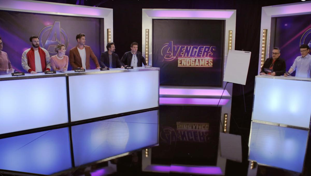 Avengers assemble for cheeky 'Endgames' game-show spoof ahead of movie's release