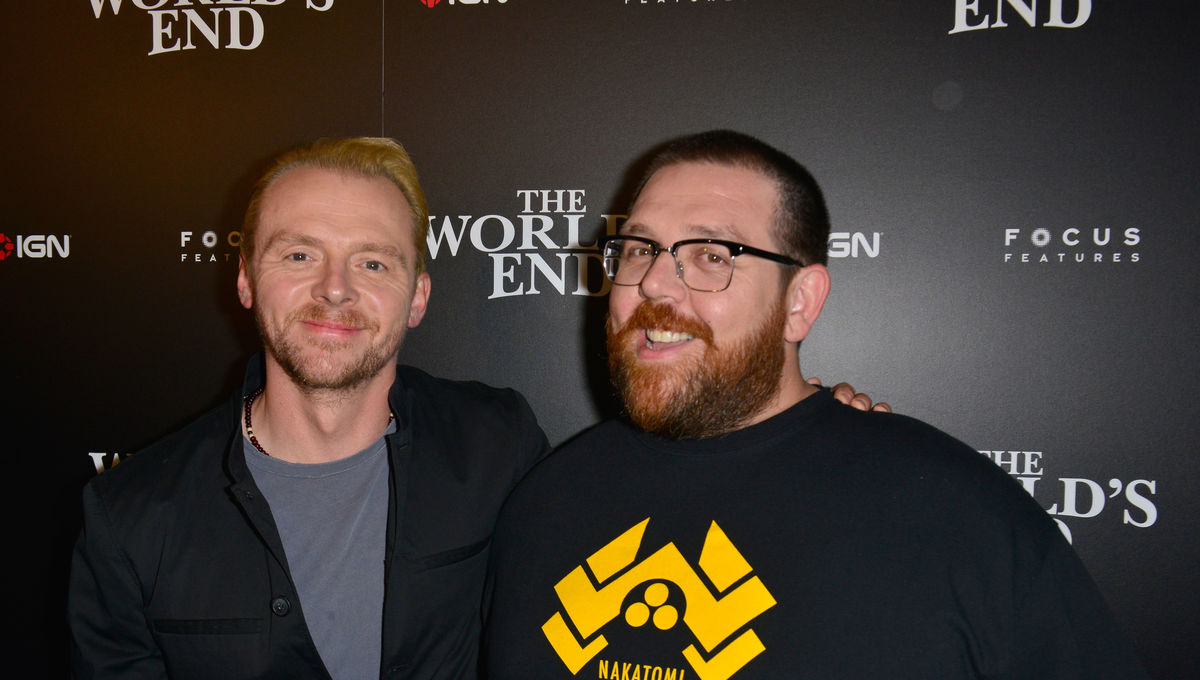 fdd32e800 WIRE Buzz: Simon Pegg & Nick Frost's new horror film, Marvel teases Blade  event, more