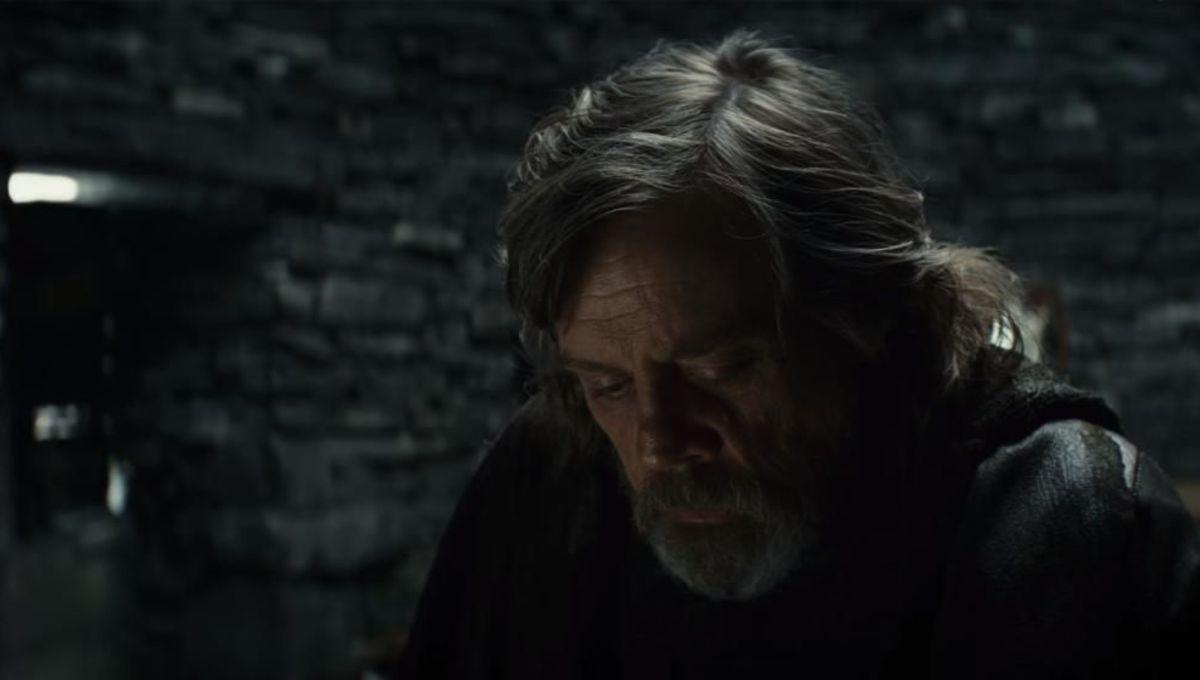 Star Wars The Last Jedi Luke Skywalker