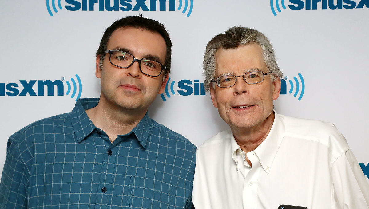 Stephen and Owen King (Credit: Astrid Stawiarz/Getty Images)