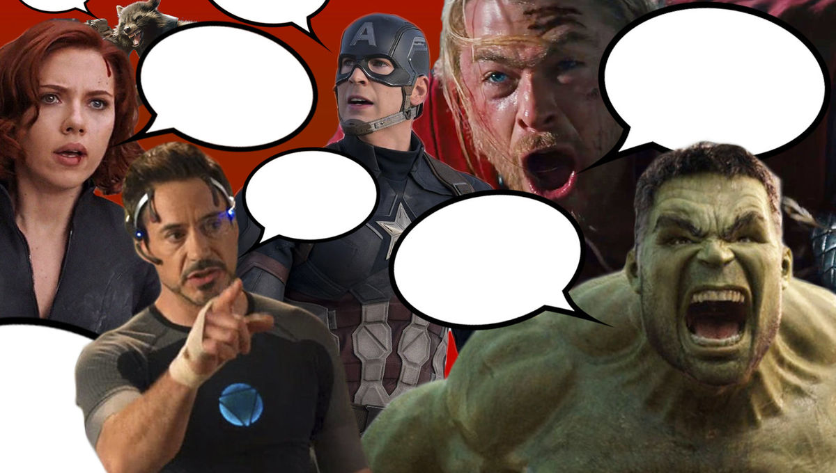 Infographics: We analyzed every Avenger's dialogue in every Marvel movie