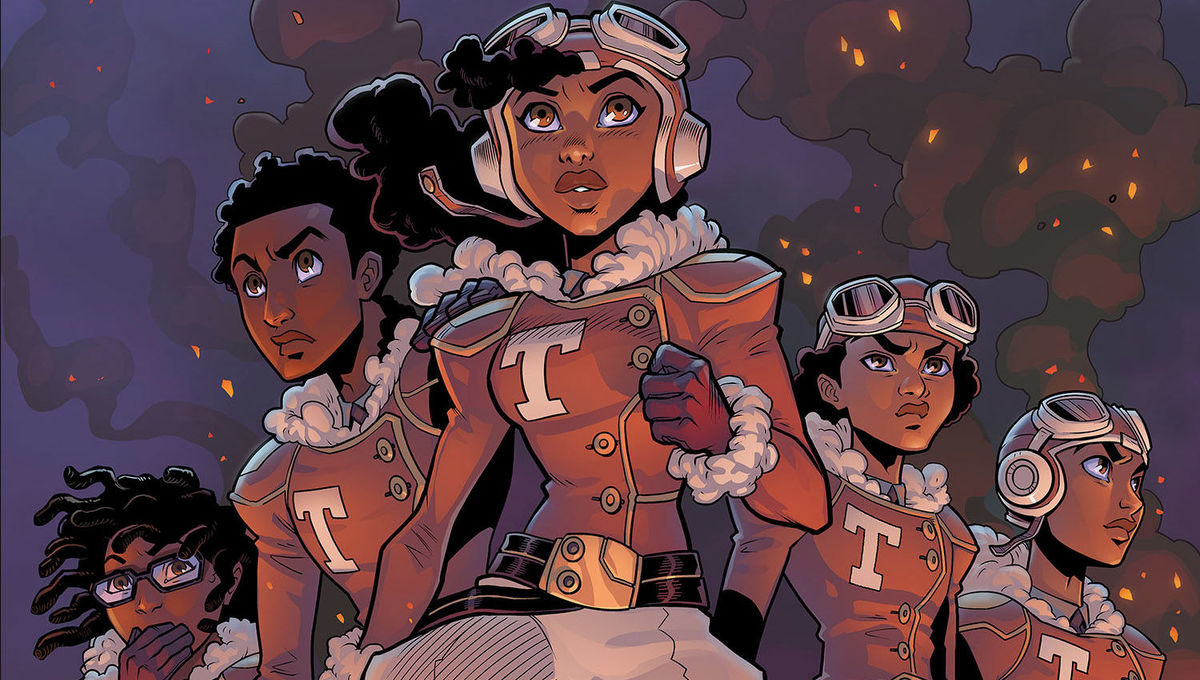 Indie Comics Spotlight: Tuskeegee Heirs creators mix history with fantasy to create hit kids comic