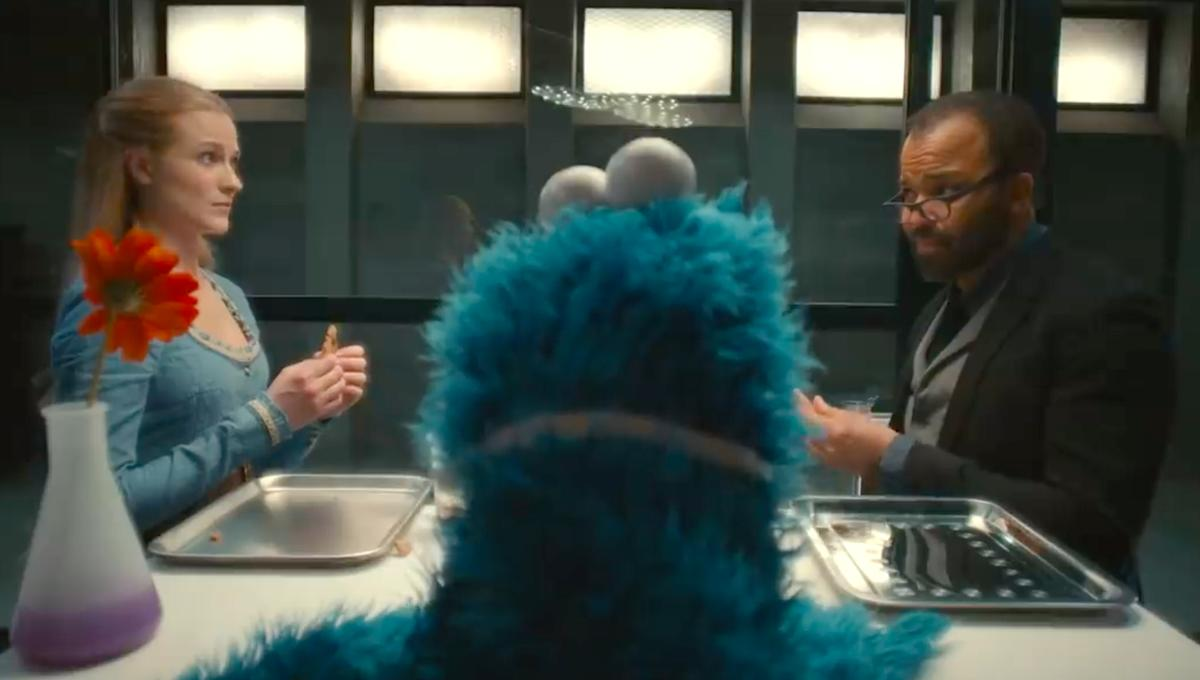 Cookie Monster freezes all motor functions to teach some life lessons to Westworld