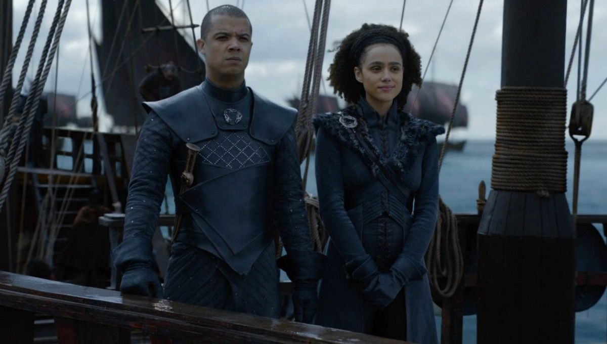 Game of Thrones: Behind-the-scenes dancing with Grey Worm