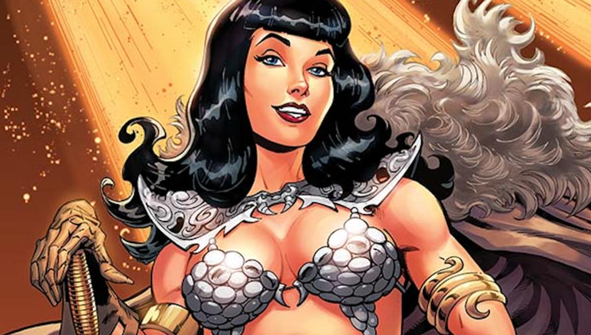 Bettie Page battles the Great Old Ones in Dynamite's new fantasy miniseries, Unbound