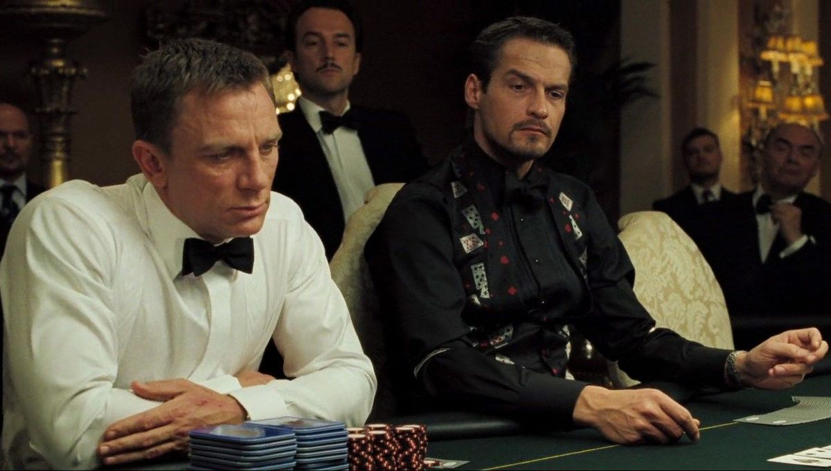 Chosen One of the Day: The impeccably dressed dealer in Casino Royale