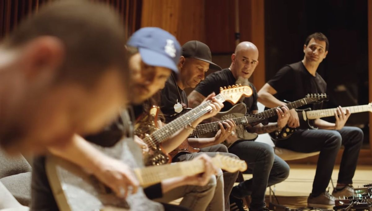 Watch guitar gods (and D.B. Weiss) shred the Game of Thrones theme