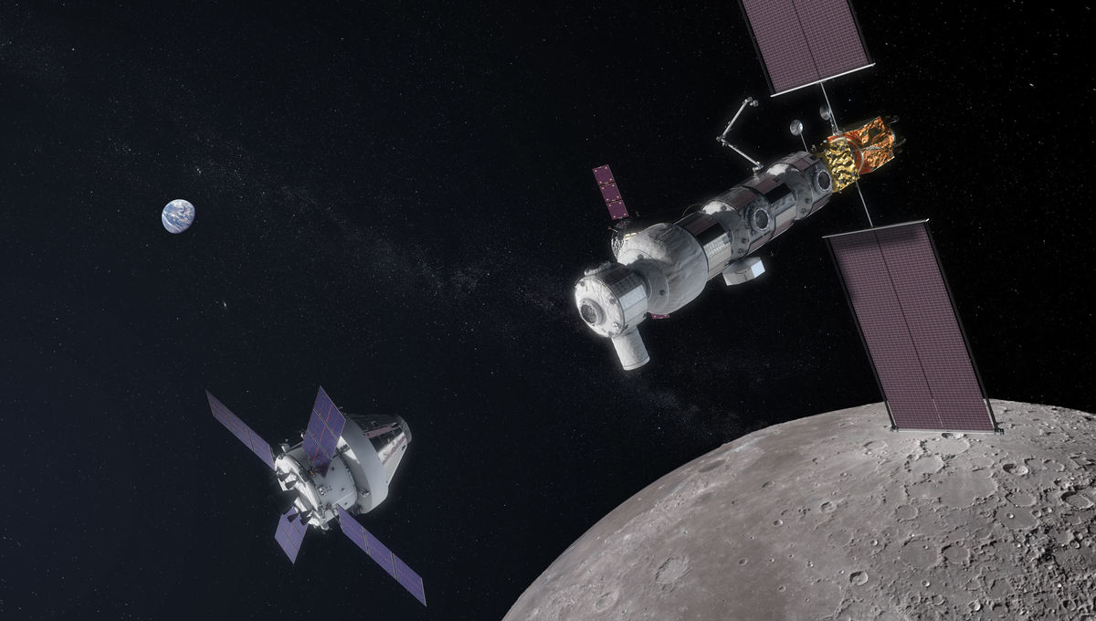 We're building that lunar gateway, and this is exactly how NASA is going to do it