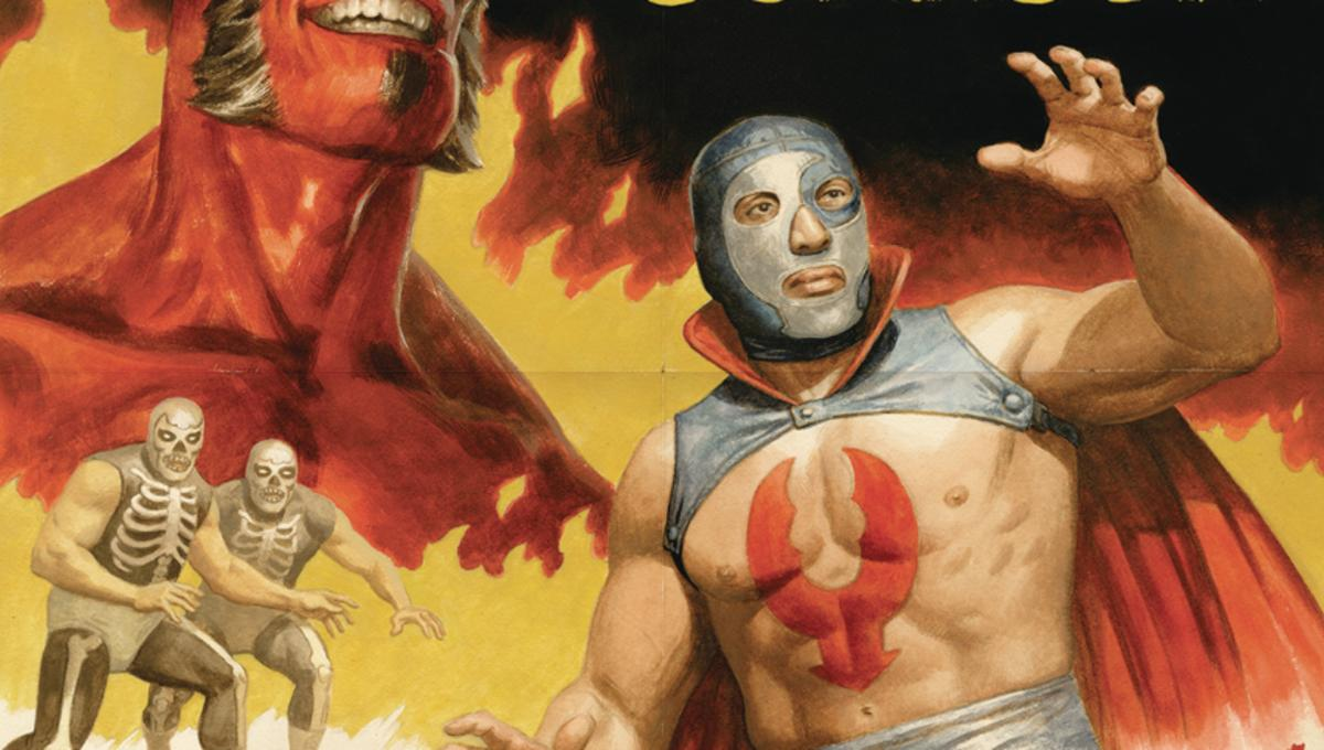 Jump into the ring for our early look at Dark Horse's Hellboy vs Lobster Johnson #1