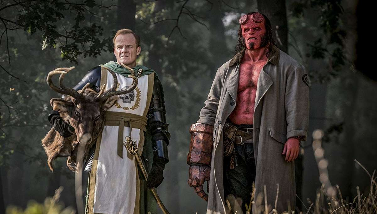 Mike Mignola explains 'bigger Hellboy world' of new movie in
