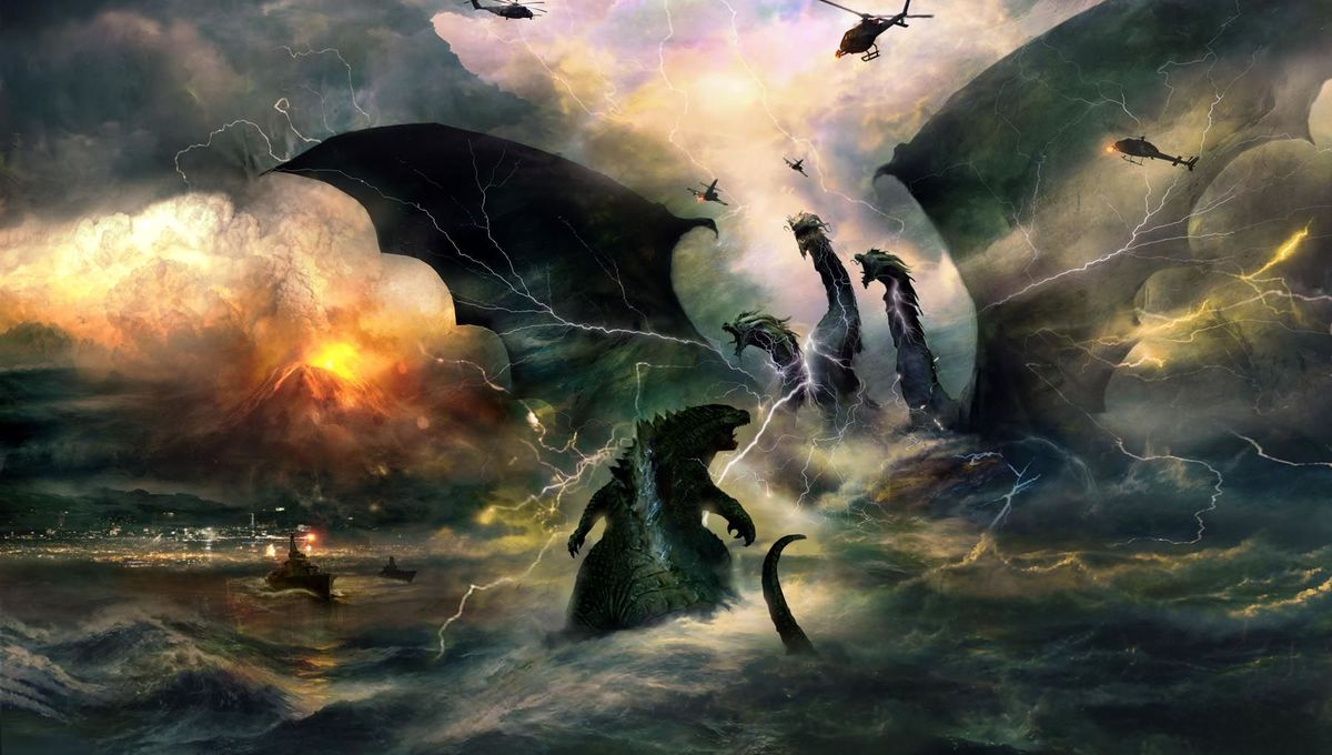 Godzilla King Of The Monsters Concept Art Shows How To