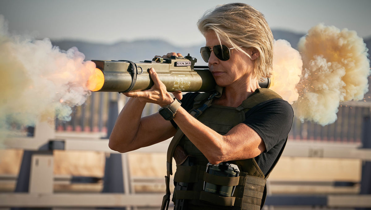WIRE Buzz: Sarah Connor kicks butt in Dark Fate clip; Samara Weaving rolls Snake Eyes; more